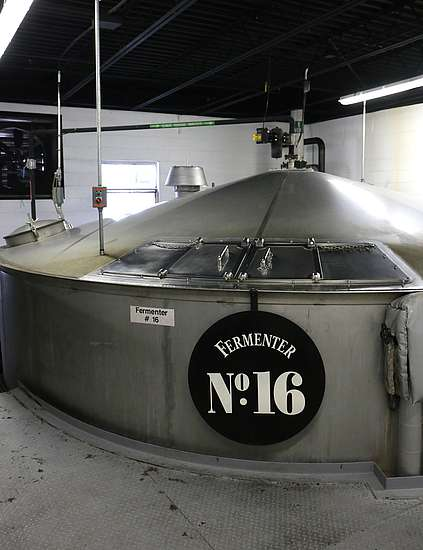 Fermenter No. 16 of Jack Daniels
