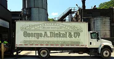 George Dickel truck uploaded by Ben, 08. Jun 2015