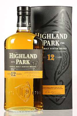 Highland Park 12 y.o. with its box