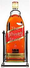 Johnnie Walker Red label with Kickstand