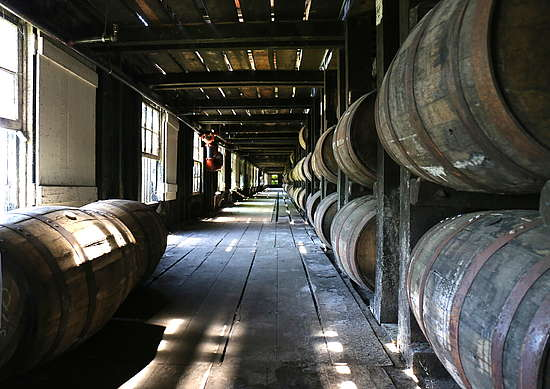The Warehouses of Wild Turkey