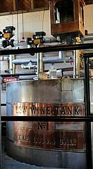 George Dickel low wine tank uploaded by Ben, 08. Jun 2015