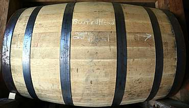 George Dickel marked barrel uploaded by Ben, 08. Jun 2015
