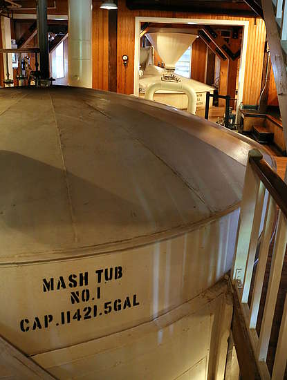 The Makers Mark mashtub