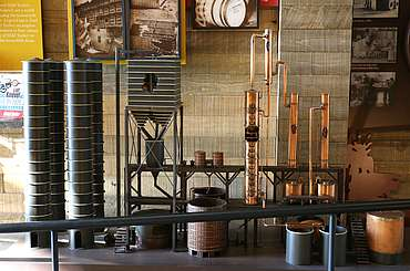 Wild Turkey model distillery uploaded by Ben, 29. Jun 2015