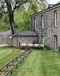 Woodford Reserve rails to the warehouse uploaded by Ben, 01. Sep 2015