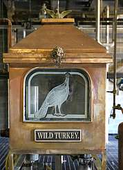 Wild Turkey spirit safe uploaded by Ben, 29. Jun 2015