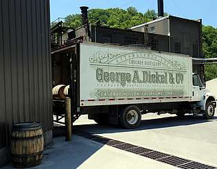 George Dickel loaded truck uploaded by Ben, 08. Jun 2015