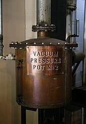 George Dickel vacuum pressure pot uploaded by Ben, 08. Jun 2015