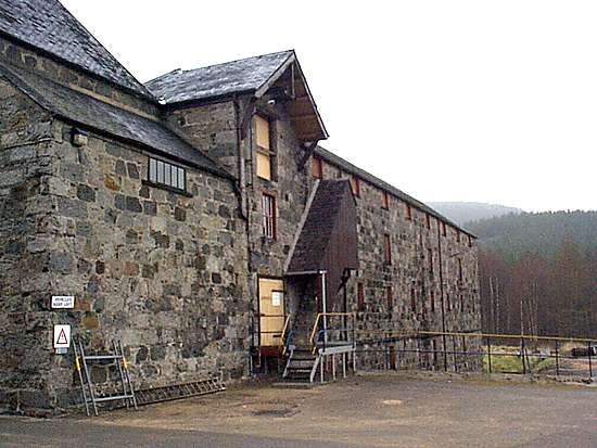 The warehouses of Royal Lochnagar