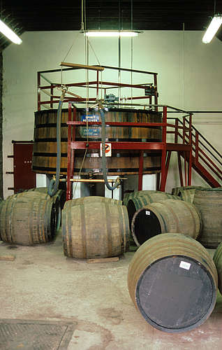 Aberfeldy - Spirit receiver and filling of casks