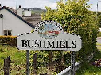 Bushmills conservation area sign uploaded by Ben, 12. May 2015
