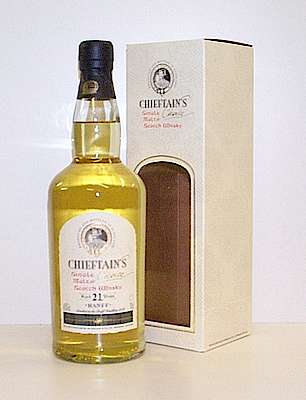 Banff Chieftains Choice 21 y.o. with package