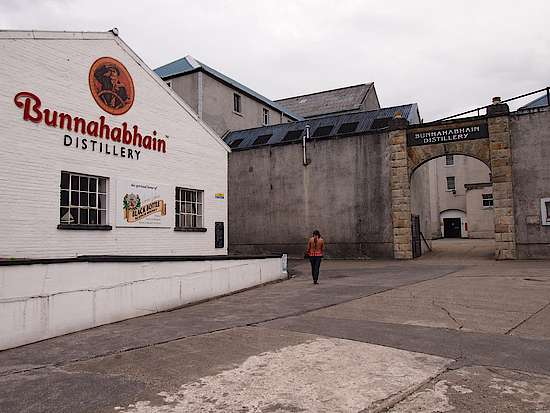 Distillery house of Bunnahabhain