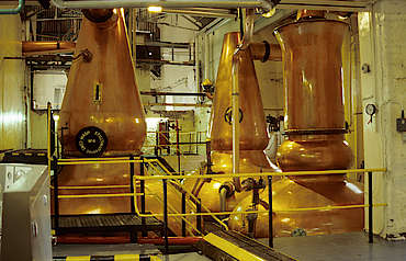 Dalmore pot stills uploaded by Ben, 17. Feb 2015