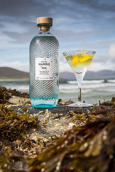 Martini with Isle of Harris Gin