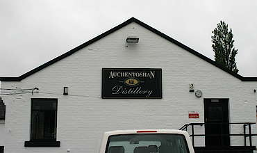 Auchentoshan company sign uploaded by Ben, 10. Feb 2015