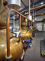Laphroaig pot stills uploaded by Ben, 15. Feb 2016