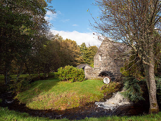 Speyside Old Waterwheel
