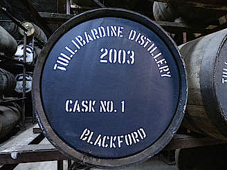 Tullibardine cask No. 1 uploaded by Ben, 18. Jun 2019
