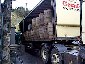 Cragganmore cask transportation uploaded by Ben, 17. Feb 2015
