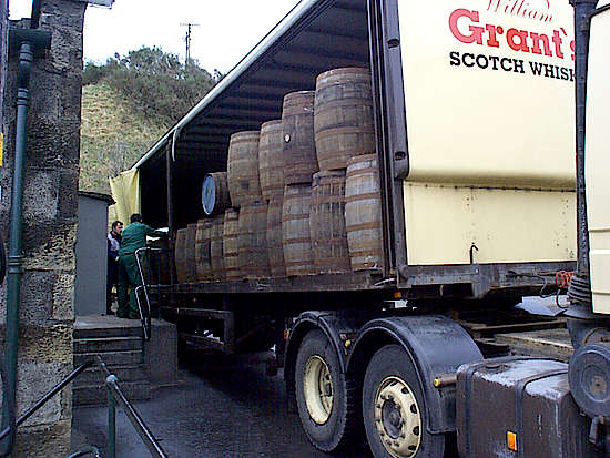 That´s the truck which transport the barrels
