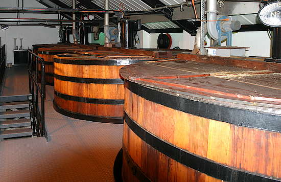 The cedar wooden washbacks of Auchentoshan
