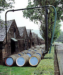 Glengoyne warehouses and cask stock uploaded by Ben, 18. Mar 2015
