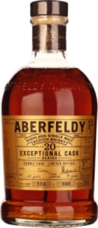 Aberfeldy Exceptional Cask Single Malt (Cask#118)